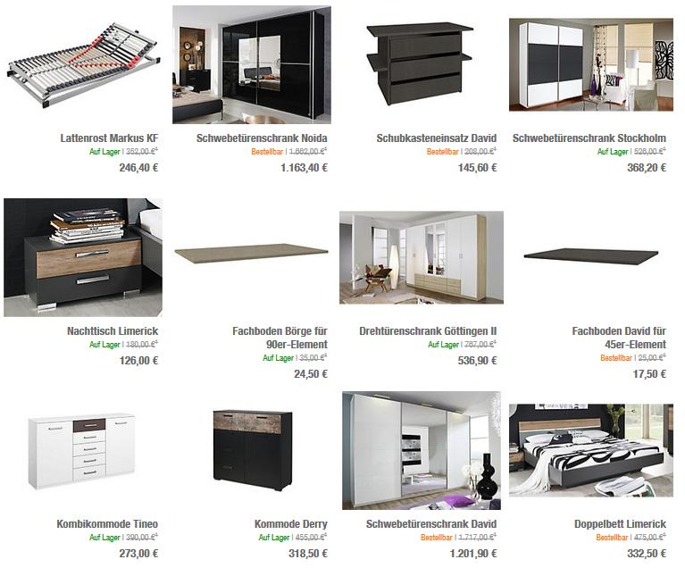 dormani tolle designer und shops online finden. Black Bedroom Furniture Sets. Home Design Ideas