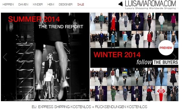 LuisaviaRoma Mode Shop