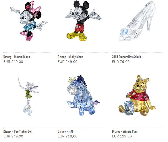 Disney Kristallfiguren