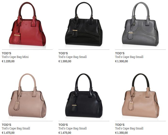 Tods Cape Bag
