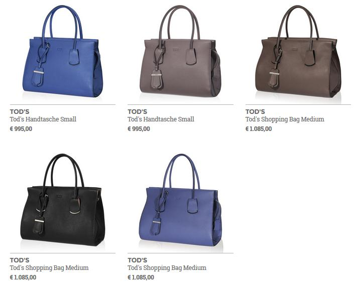 Tods Note Bag